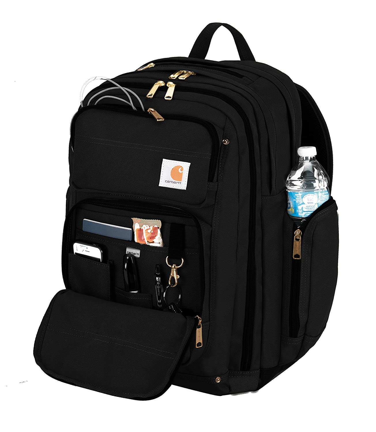Carhartt Legacy Deluxe Work Backpack with 17-Inch Laptop Compartment ...