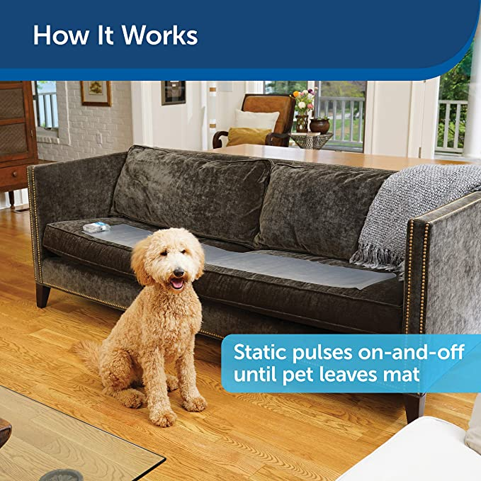 "Pet Training Mat 60 X 12/"" Scat Shock For Dogs /& Cats 3 Adjustable Levels Keep Pe"