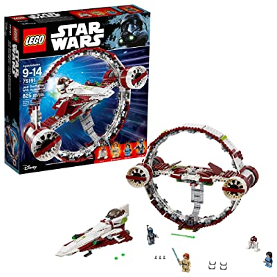 LEGO 6175769 Star Wars Jedi Starfighter with Hyperdrive 75191 Building Kit (825 Pieces): Toys & Games