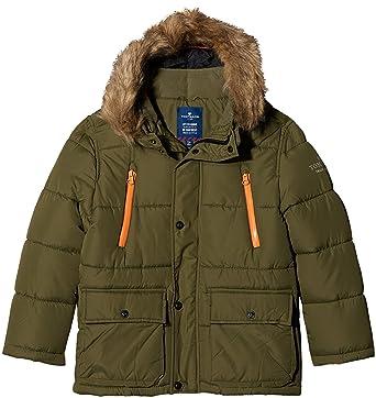 good selling huge sale new styles TOM TAILOR Kids Jungen Tech Parker Style Jacke, Grün (Deep ...