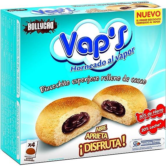 Bollycao Vaps Azul - Paquete de 4 x 35 gr - Total: 140 gr