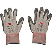 3M Comfort Grip Glove CGM-GU, General Use, Size M, foamed nitrile palm provides excellent grip, even in wet or oily conditions