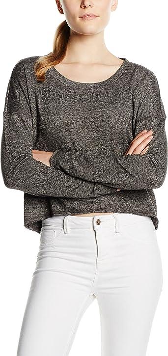 Bluza ONLY dla kobiet, kolor: szary, rozmiar: 36 (rozmiar producenta: S): Odzież