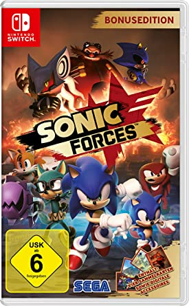 Sonic Forces (Nintendo Switch): Amazon.es: Videojuegos