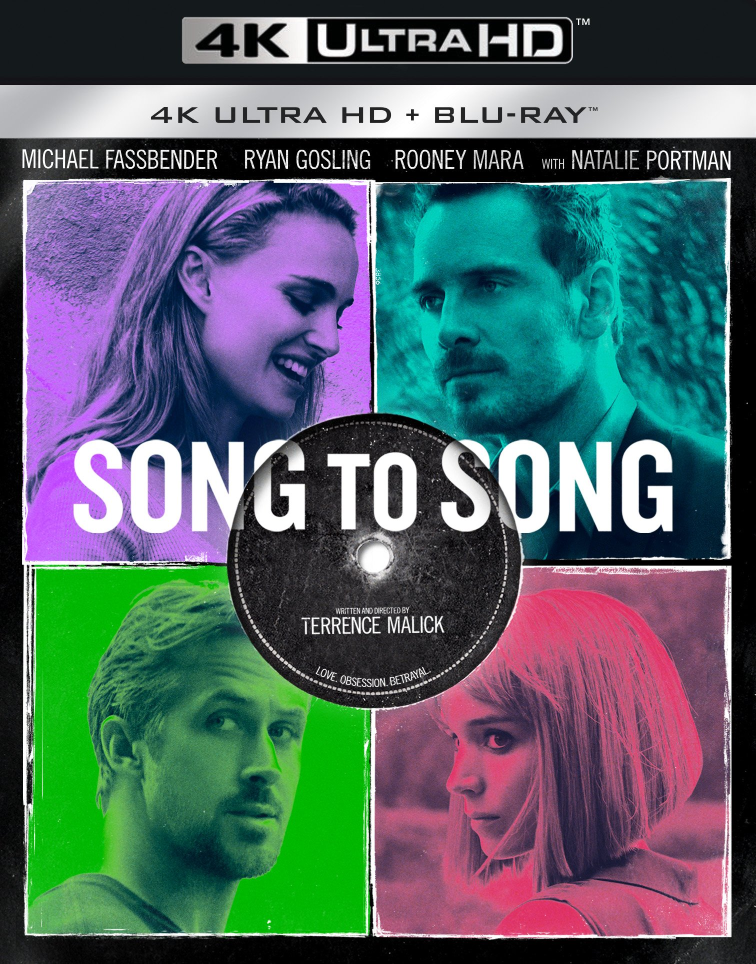 4K Blu-ray : Song to Song (With Blu-Ray, 4K Mastering, 2 Pack, Widescreen, 2 Disc)