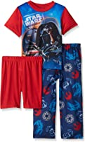Star Wars Boys' Darth Vader 3-Piece Pajama Set