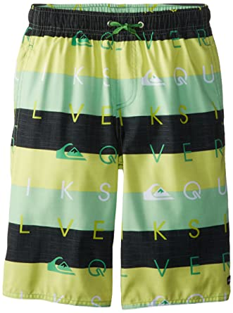 Quiksilver Big Boys  Letterpress Board Short, Shamrock, Large ... 22de2a631e