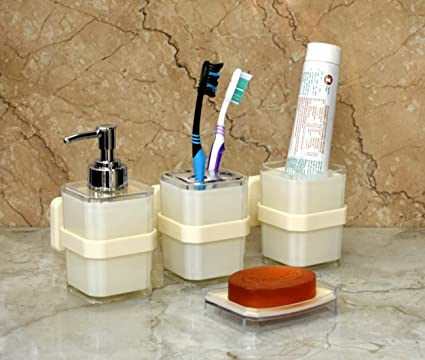 Wall Mounted Premium Quality Bathroom Accessories Set By Wigano. The ...