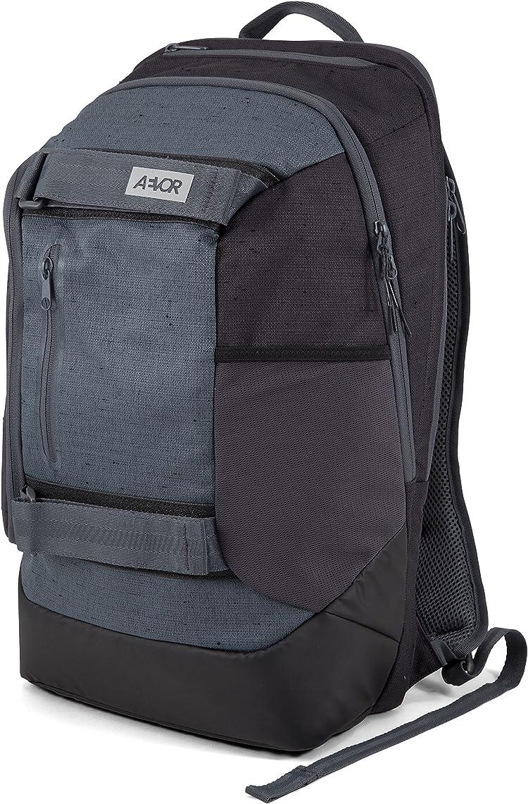 f65bf941fa951 AEVOR Bookpack Bichrome Night Rucksack für die Uni und Freizeit inklusive  15 Zoll Laptopfach und Skateboard Tragesystem