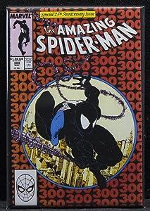 The Amazing Spider-Man #300 Comic Book Cover Refrigerator Magnet. Venom