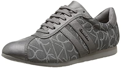 858b9a4b2f7c9 Amazon.com: Calvin Klein Gayla Ck Logo 3D, Women's Trainers: Shoes