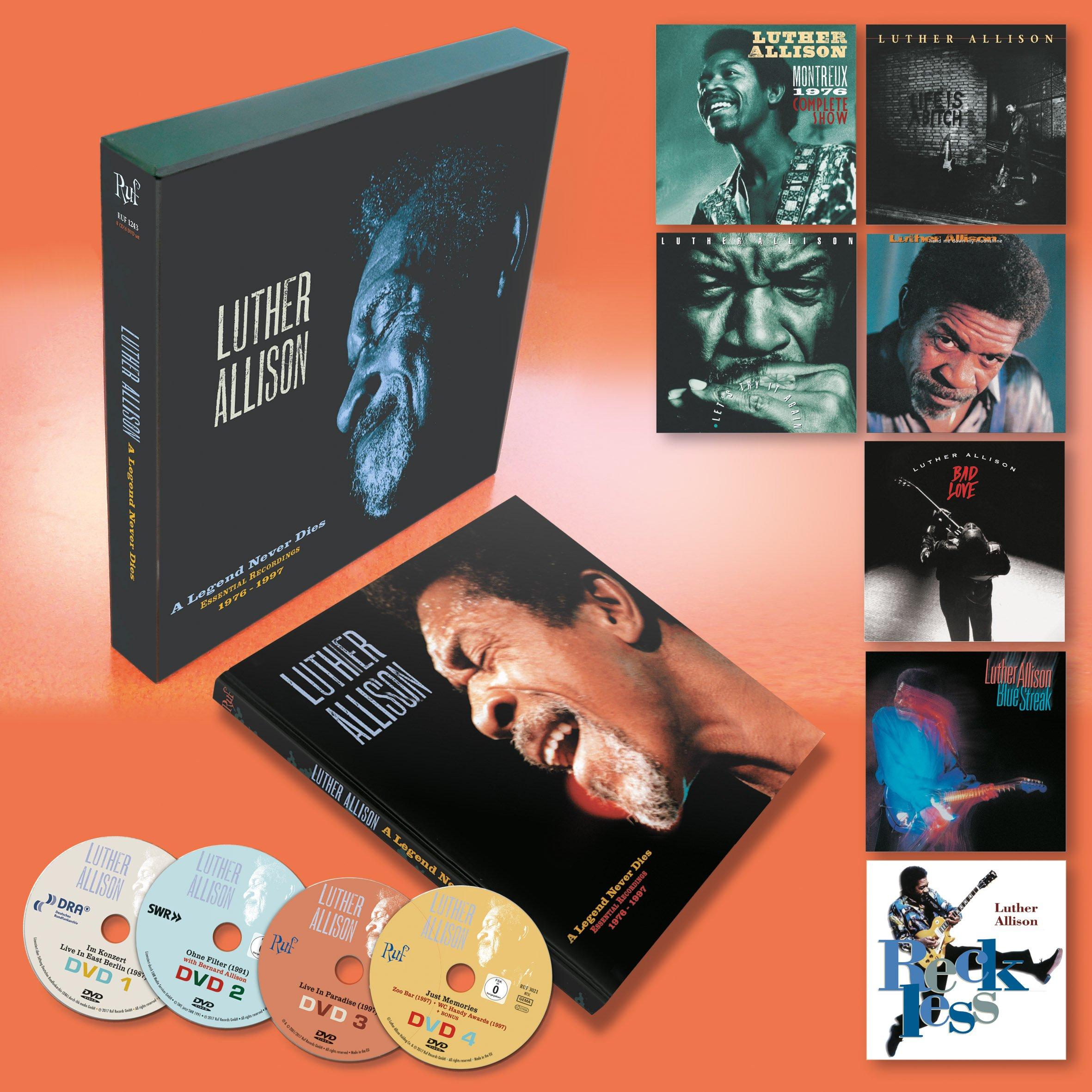 A Legend Never Dies Essential Recordings 1976-1997