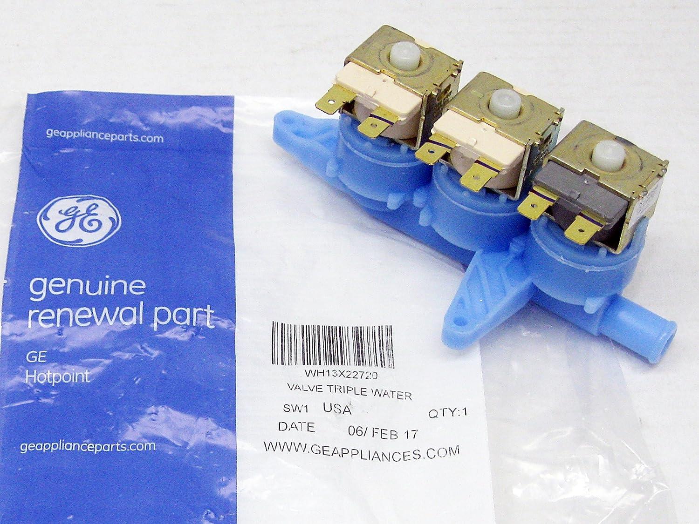 Ge WH13X22720 Washer Water Inlet Valve Genuine Original Equipment Manufacturer (OEM) Part