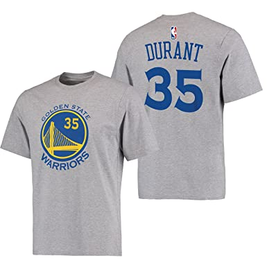 78ce2255e8d Kevin Durant Golden State Warriors  35 Adidas Grey Name And Number Kids T  Shirt (
