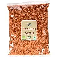RITA LA BELLE Lentille Corail 1 kg - Lot de 3