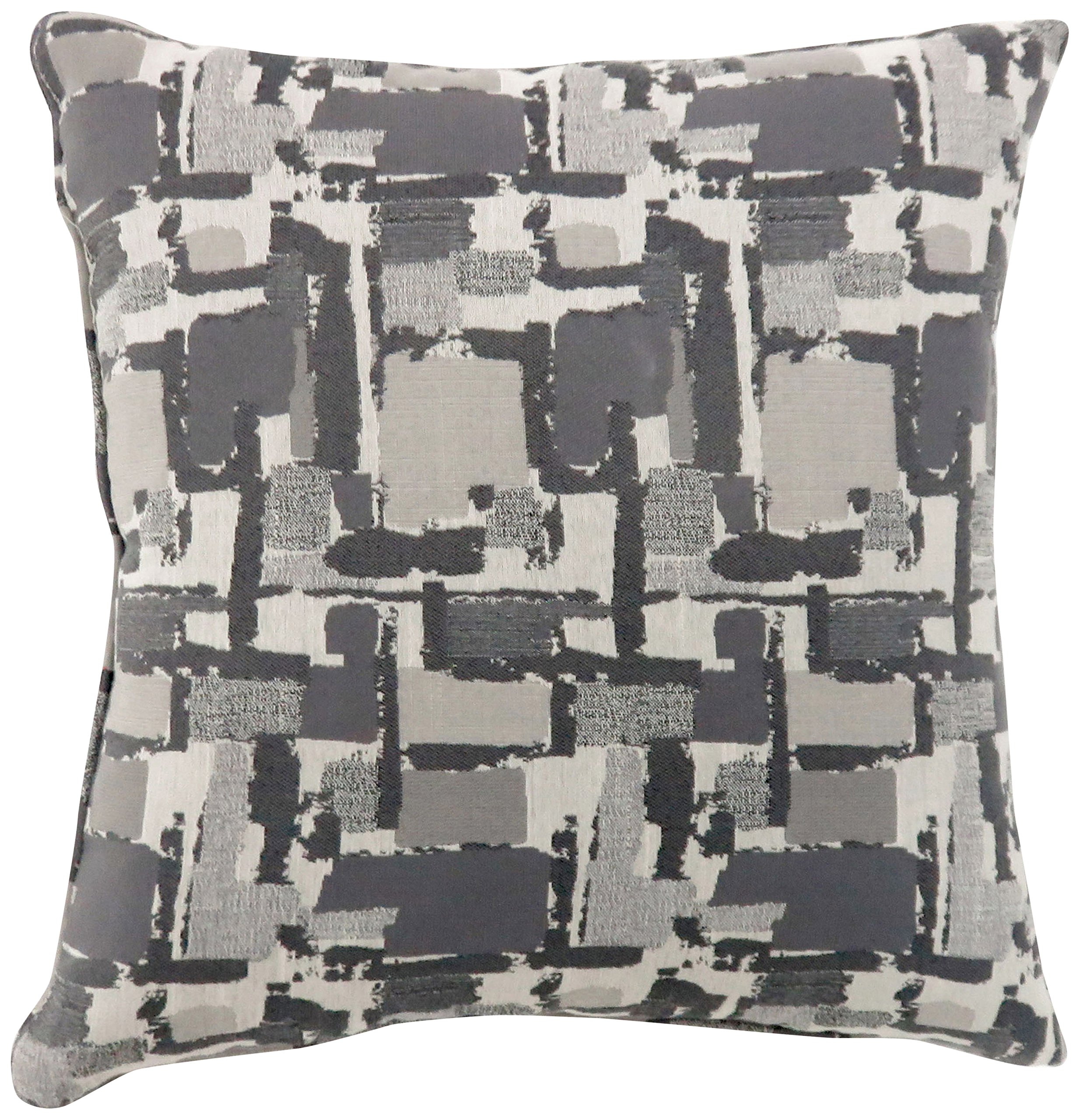 HOMES: Inside + Out 100% Polyester Decorative Pillow, Large, Gray, 2 Piece