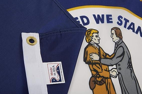 Amazon.com: Allied Bandera Outdoor Nylon Estado Bandera ...