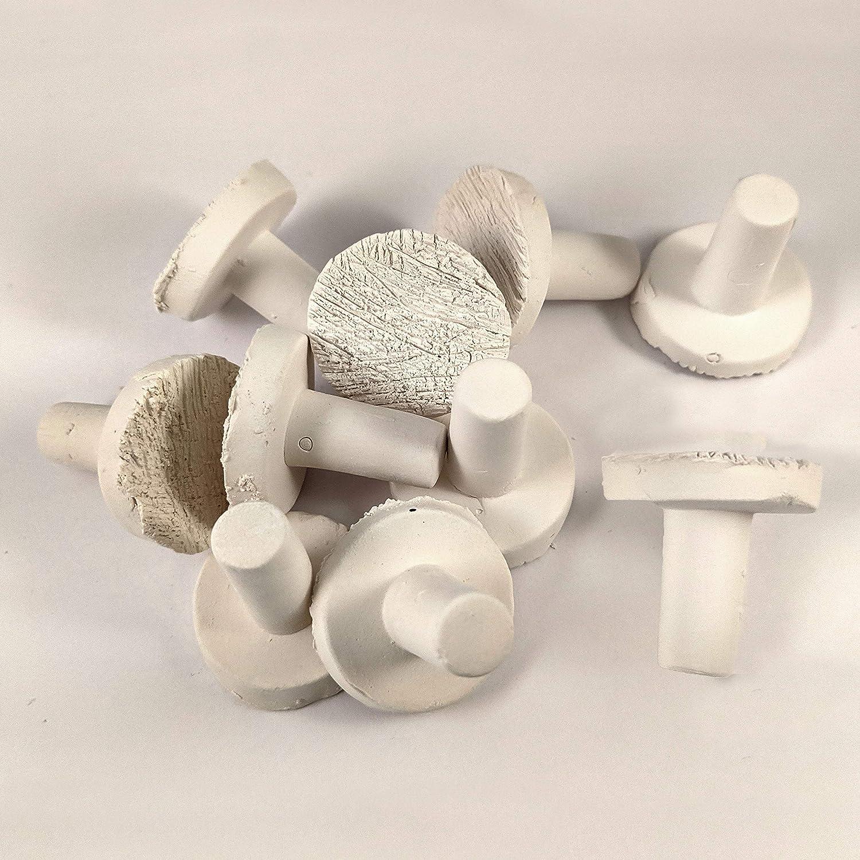 Aquacadabra Large Ceramic Frag Plug x5 for Marine Reef Coral Fragging