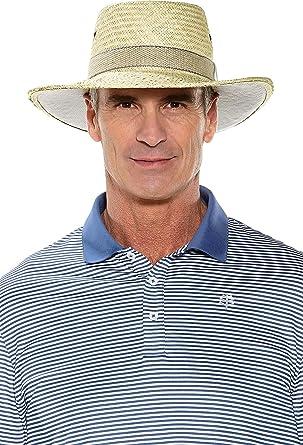 5e70df6a309 Amazon.com  Coolibar UPF 50+ Men s Eagle Golf Gambler - Sun Protective   Clothing