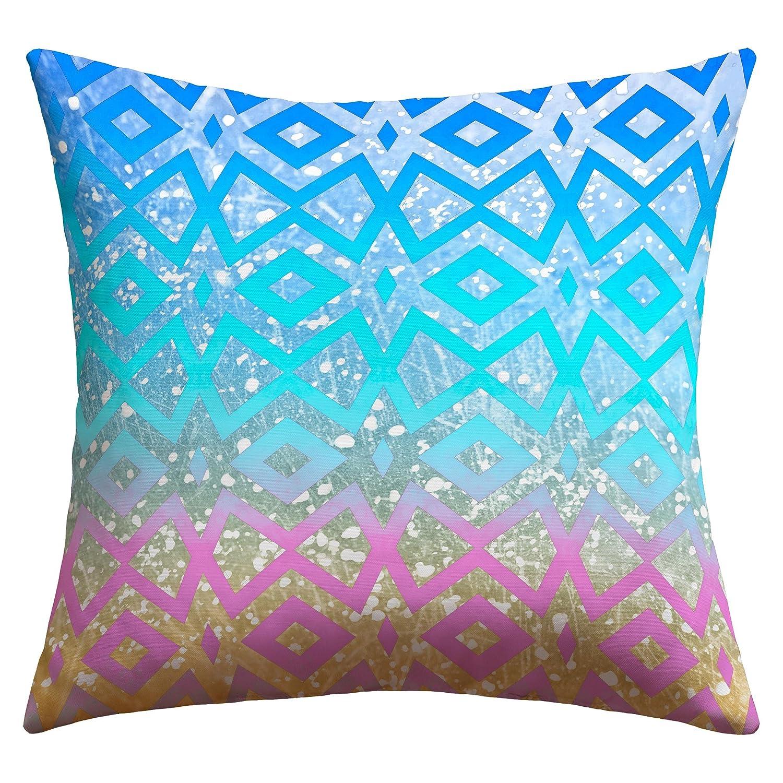 Deny Designs Lisa Argyropoulos Ocean T 1 Outdoor Throw Pillow, 20 x 20 Deny Designs - LG 14523-othrp20