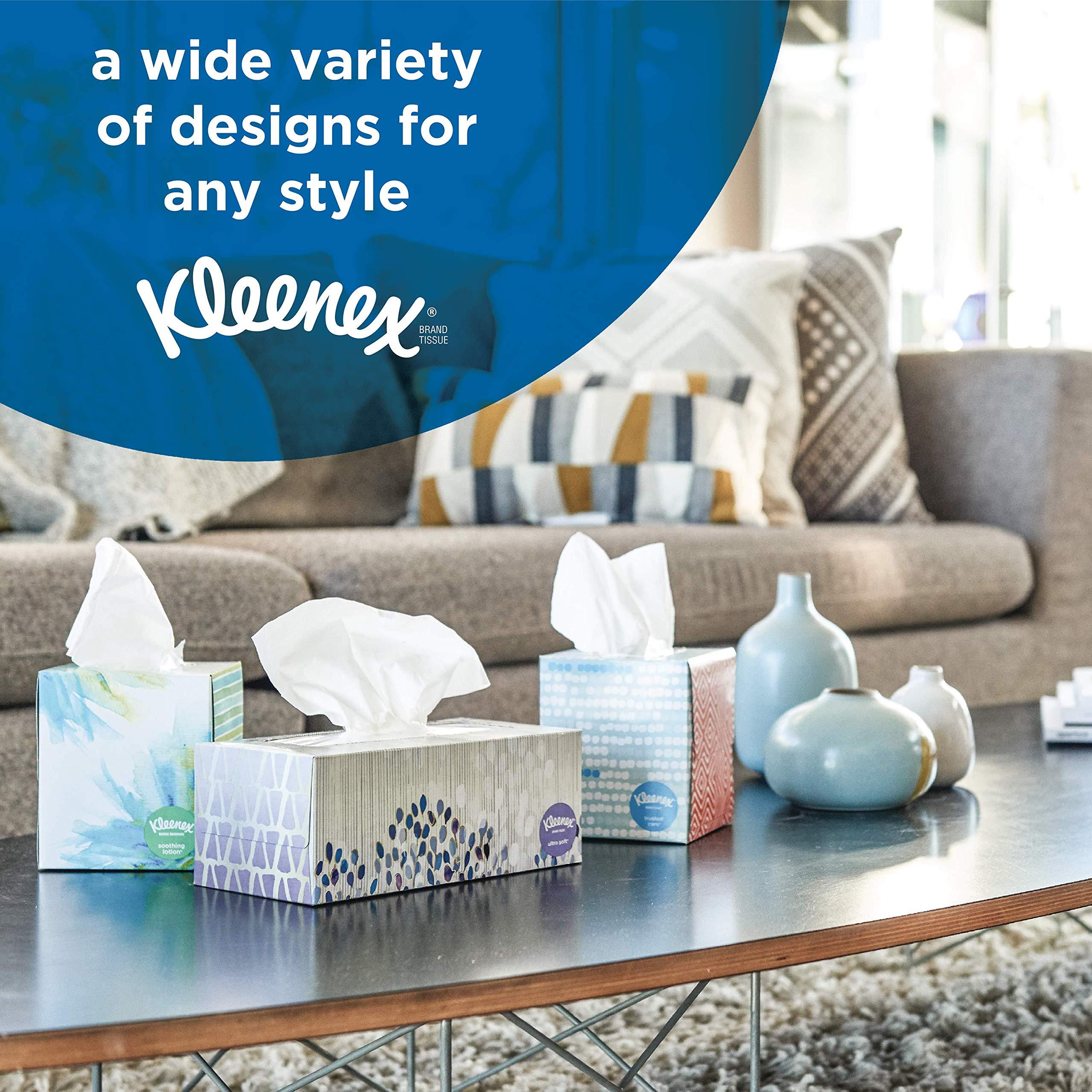 Kleenex Lotion Facial Tissues with Aloe & Vitamin E, Cube Box, 75 Tissues per Cube Box, 18 Packs by Kleenex (Image #6)
