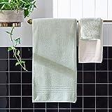Rivet Quick-Dry Cotton Bath Towels, 2-Pack, Egret