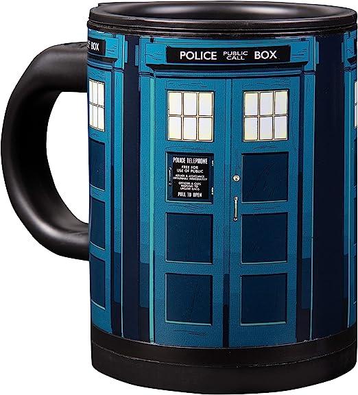 Vandor Doctor Who 20 Oz New Heat Reactive Ceramic Travel Mug 16251