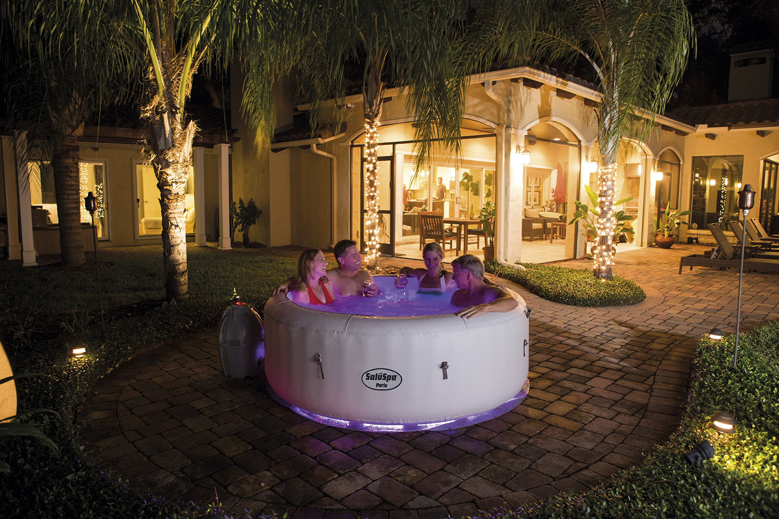 tub purespa deals intex and adults inflatable with above tubs sale portable kotulas massage favorites for accommodates hot plus bubble