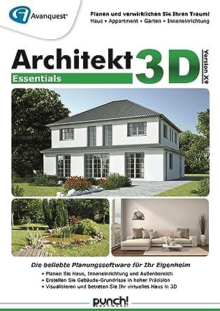 Architekt 3D X9 Essentials: Amazon.De: Software
