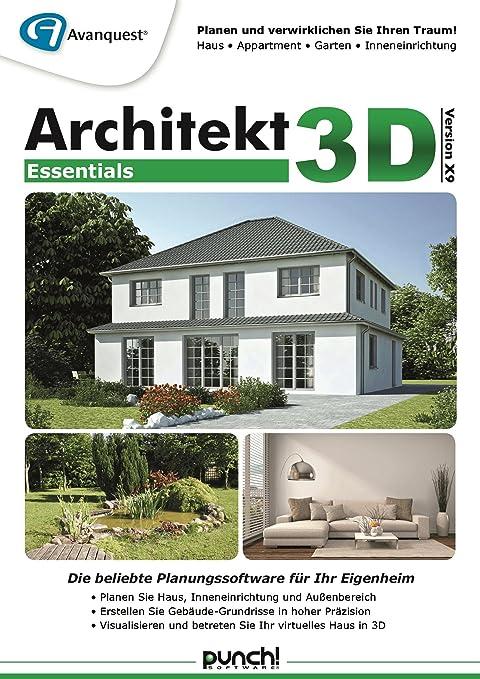Architekt 3d X9 Essentials Planen Sie Ihr Künftiges Haus Ihren