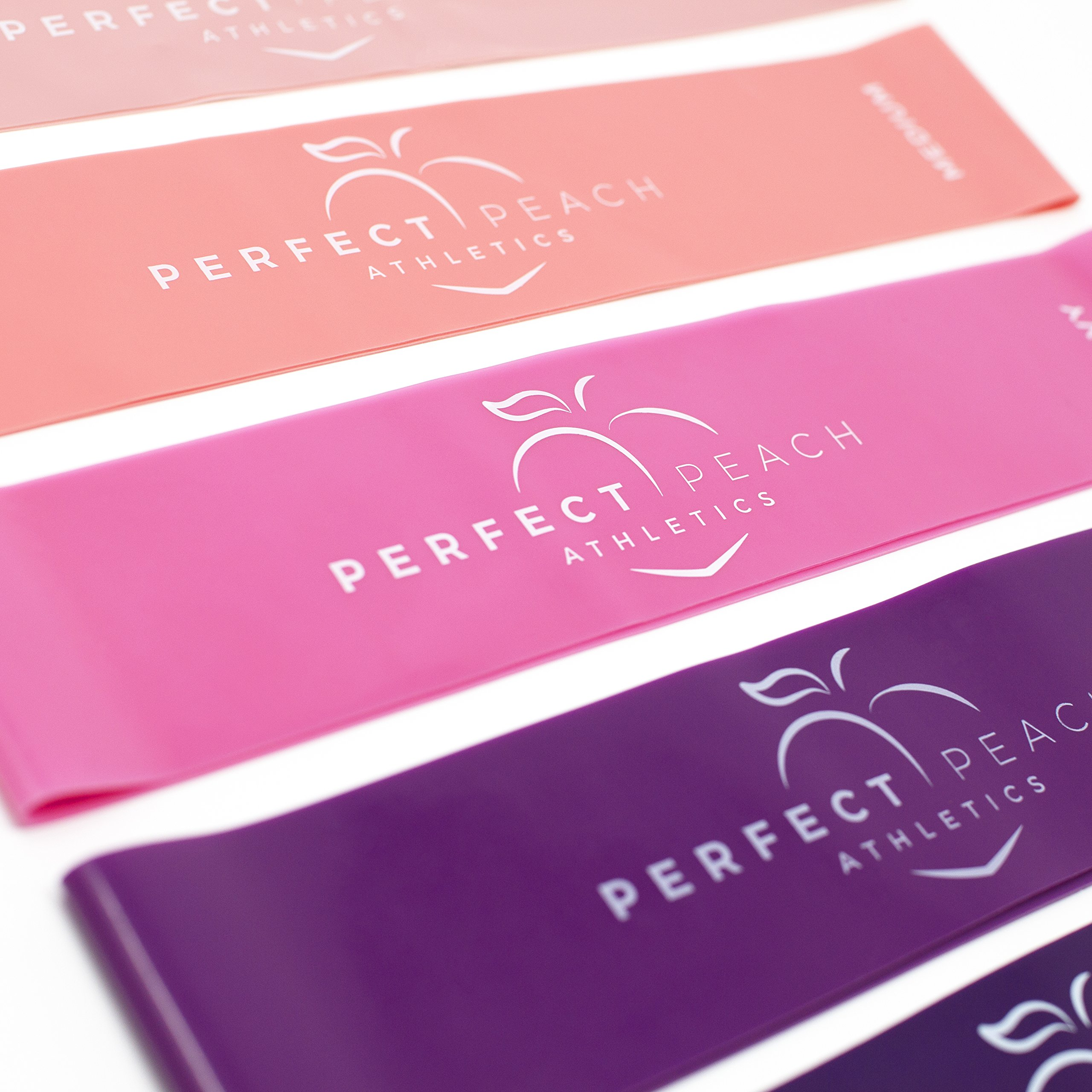 Perfect Peach Athletics Resistance Bands Workout Bands