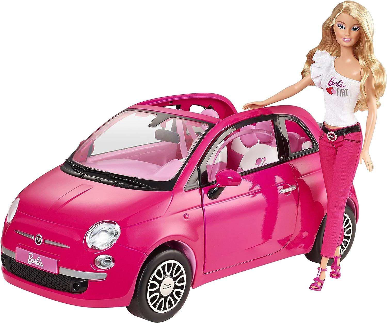 Mattel Y6857 - Barbie New Fiat 500: Amazon.it: Giochi e giocattoli