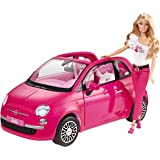 Mattel Y6857 - Barbie New Fiat 500