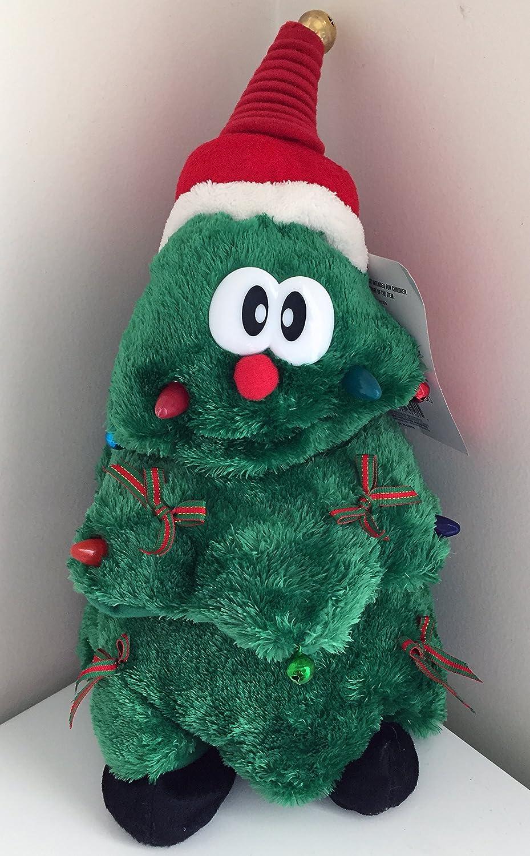 Amazon.com: Animated Musical Dancing Christmas Tree with Lights 11 ...