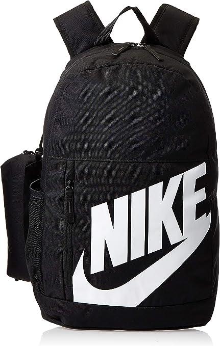 cúbico Cumplido Compasión  Nike Kinder Sports Backpack Y Nk Elmntl BKPK - FA19, Black/(White), MISC,  BA6030: Amazon.de: Schuhe & Handtaschen