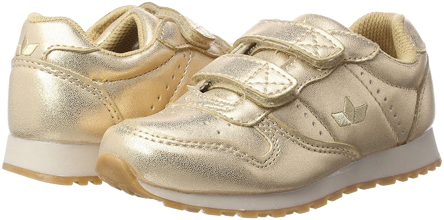 Womens Glare V Trainers, Rose-Gold Lico
