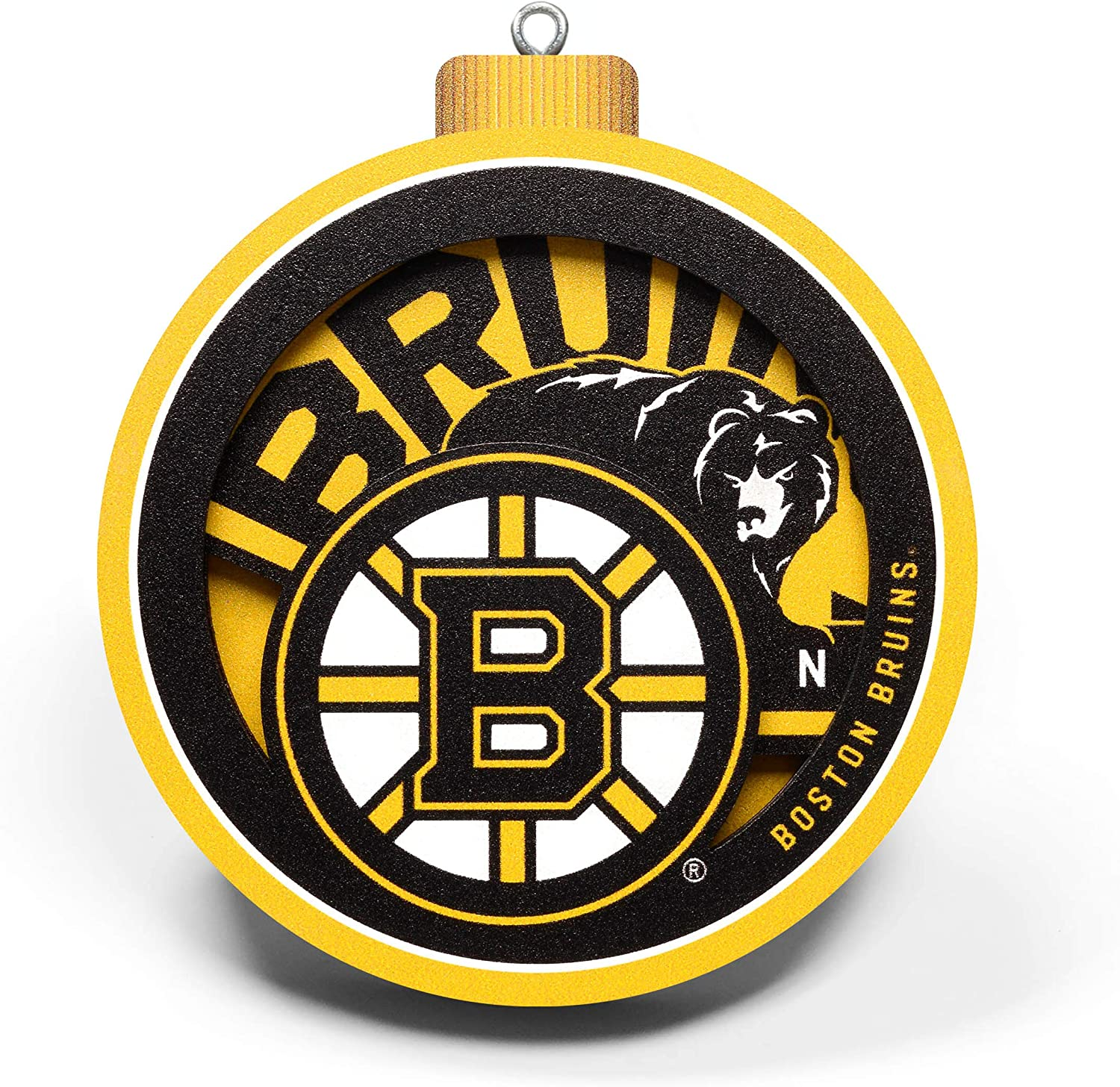 YouTheFan NHL 3D Logo Series Ornament