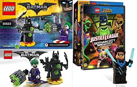 lego dc superheroes justice league gotham city breakout full movie
