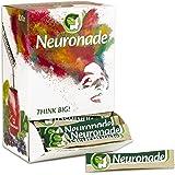 Neuronade - Getränk mit Ginkgo Biloba, Brahmi (Bacopa), Rosenwurz (Rhodiola), Grüntee, Heidelbeeren, Biotin & Vitamin B12   koffeinfrei & vegan – 100er Pack