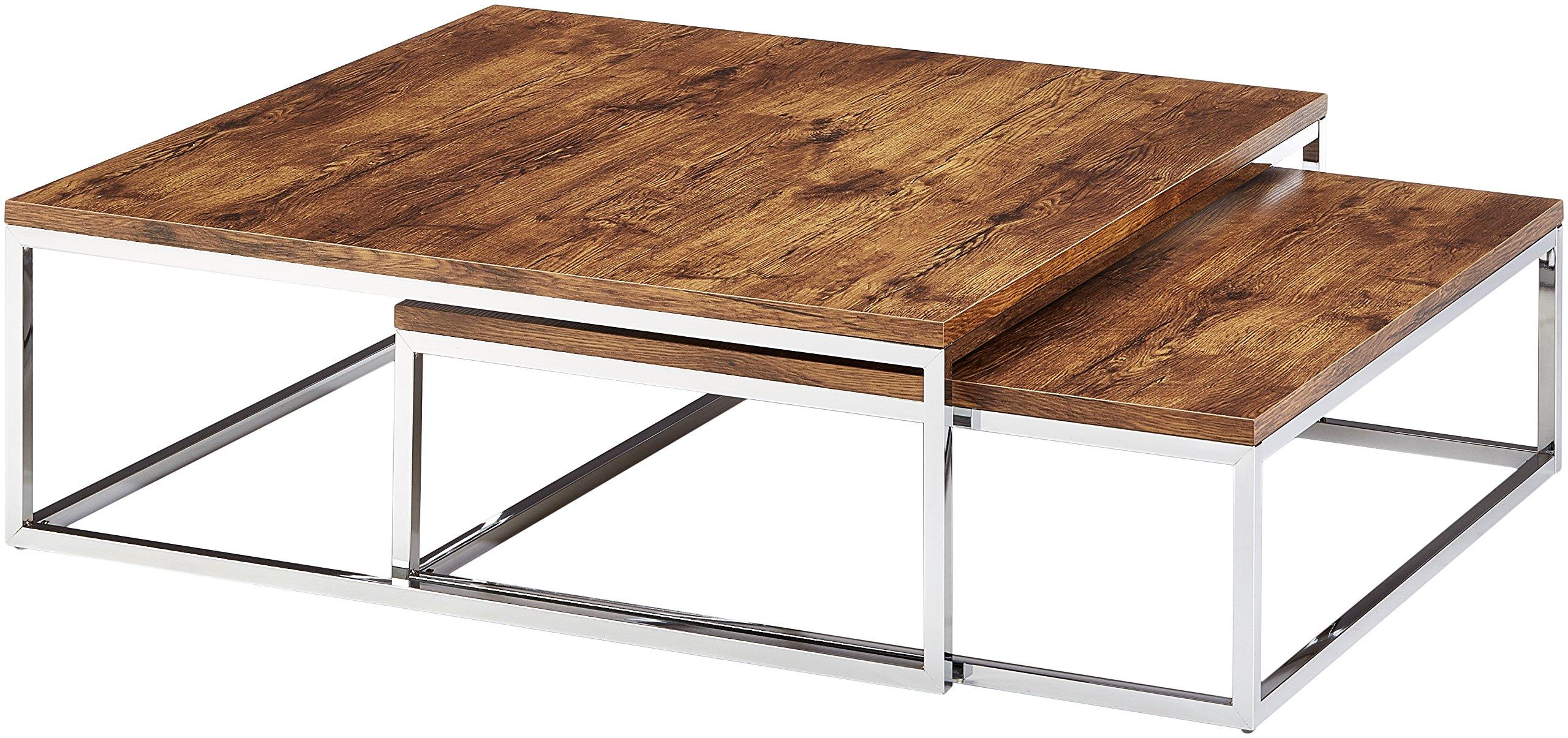table basse bois metal. Black Bedroom Furniture Sets. Home Design Ideas