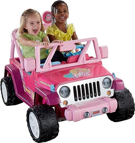 Amazon.com: Power Wheels Barbie Jammin' Jeep Wrangler: Toys & GamesAmazon.com