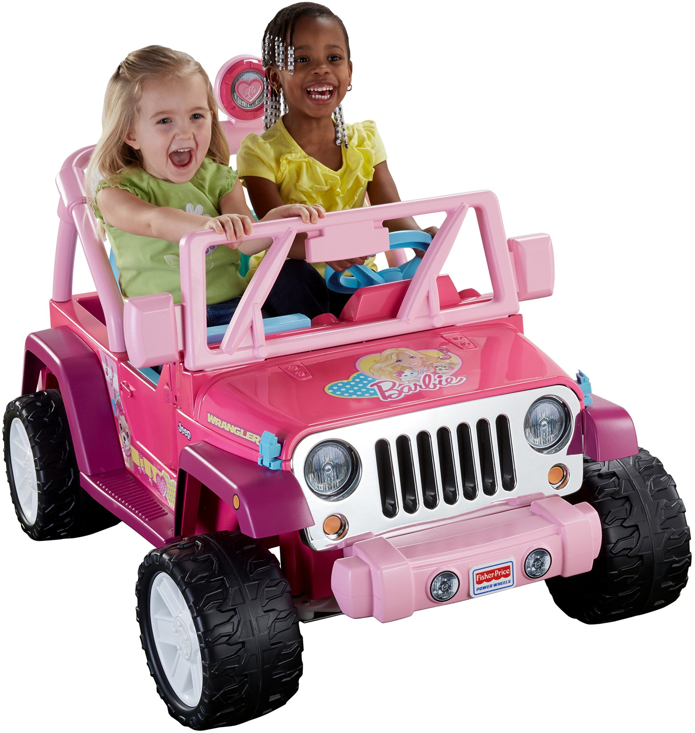 Fisher-Price Power Wheels Barbie Jammin' Jeep Wrangler by Fisher-Price