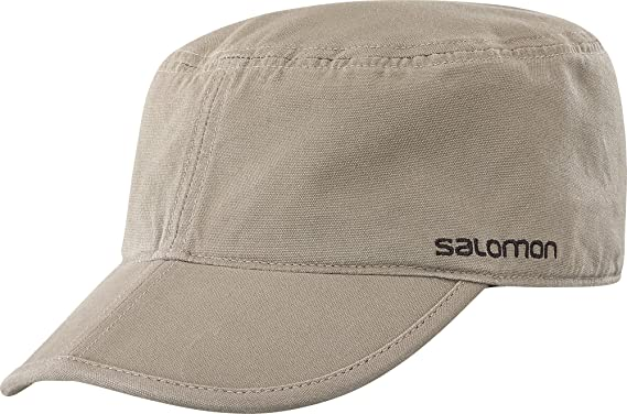 Salomon Military Flex, Gorra Hombre, Marrón (Walnut), Talla única ...