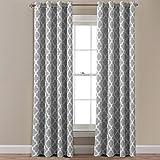 Amazon Com Meridian Gray Grommet Room Darkening Window
