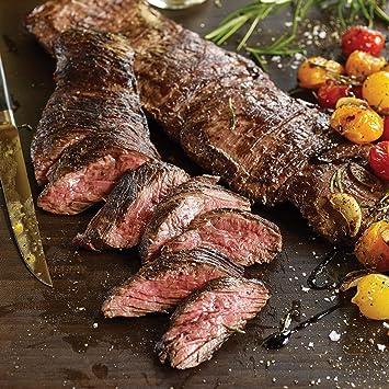 Omaha Chuletas 4 (14 oz) Falda Carne: Amazon.com: Grocery ...