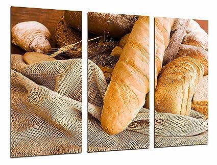 Poster Moderno Fotografico Pan, Panaderia, Barra de Pan, Horno Pan, Pasteleria,