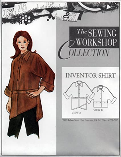 Amazon The Sewing Workshop Inventor Shirt Sewing Template