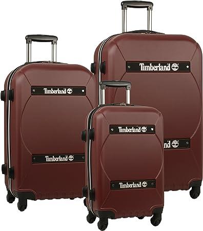 Timberland Chocolate Expandable Luggage
