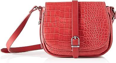 Esprit Accessoires 090ea1o320, Bandolera para Mujer, Rojo, Talla única