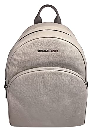 a39cb6f1927f1a Amazon.com | MICHAEL Michael Kors Abbey Jet Set Large Leather Backpack  (Pearl Grey) | Casual Daypacks